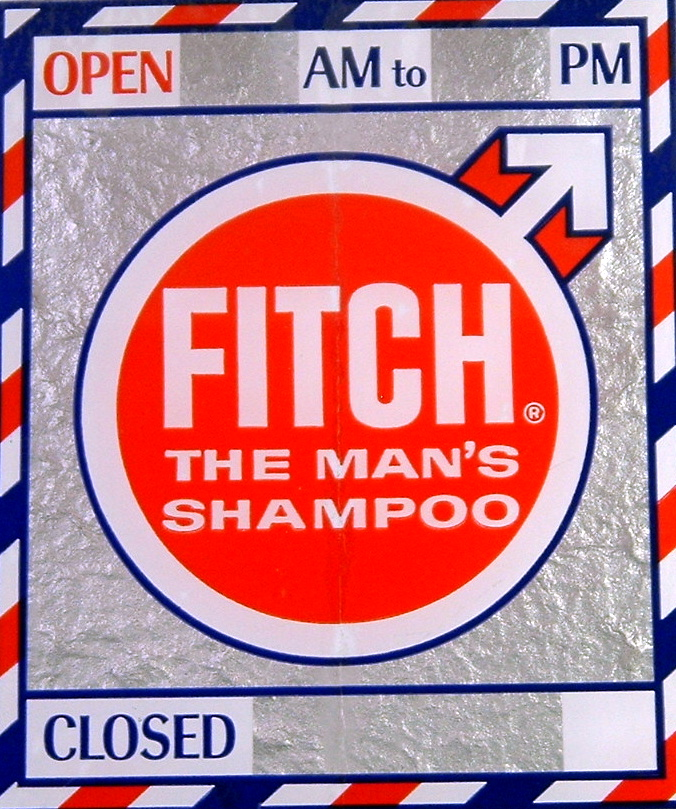 Fitch Shampoo Decal